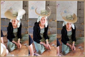 Рукоделие - шляпы из картона