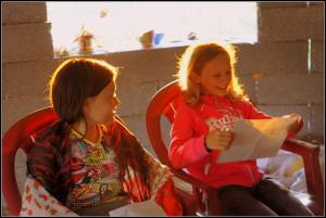 Учёба в лагере