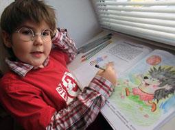 Мальчик остался доволен Дианетическим семинаром в Севастополе :)